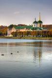 kyrklig lake Royaltyfri Fotografi