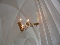 kyrklig lampa royaltyfri bild