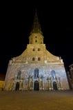 kyrklig latvia peter riga s saint Royaltyfri Bild