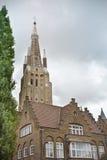kyrklig lieve onzevrouwekerk Arkivfoto