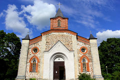 kyrklig lutheran Royaltyfria Bilder