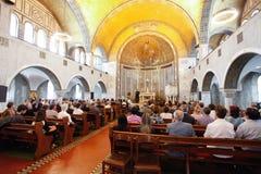 kyrklig lutheran rome Royaltyfria Bilder