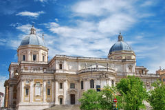 kyrklig maggiore maria rome santa Royaltyfria Foton