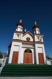 kyrklig manitoba ortodox rivertonukrainare arkivbilder