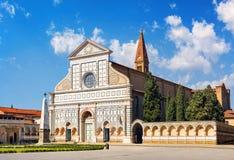 kyrklig maria novella santa florence italy Royaltyfria Foton
