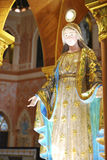 kyrklig mary för kristen staty thailand Arkivbild