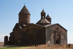 kyrklig medeltida saghmosavank Fotografering för Bildbyråer