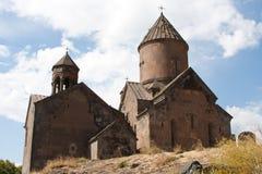 kyrklig medeltida saghmosavank Royaltyfria Foton