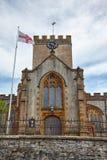 kyrklig michael för ärkeängel st Lyme regis Västra Dorset england arkivbild