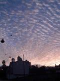 kyrklig morgon Arkivfoton