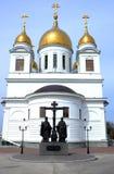 kyrklig ortodox ryss Arkivfoton