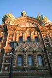 kyrklig petersburg spilld st för blod Royaltyfria Bilder
