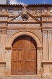 kyrklig port Arkivbilder