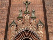 kyrklig portal Royaltyfria Foton
