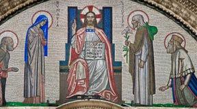 kyrklig portal westminster för domkyrka Arkivbilder