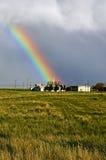 Kyrklig regnbåge arkivfoton