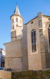 Kyrklig Saint Michel av Castelnaudary Arkivbilder