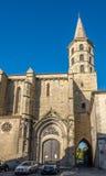 Kyrklig Saint Michel av Castelnaudary Royaltyfri Bild