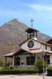 Kyrklig Sor Teresa av Anderna, Chile Royaltyfria Foton
