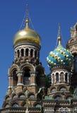 kyrklig spilld kupolfrälsare för blod Royaltyfri Foto