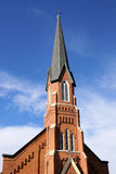 kyrklig spire Royaltyfri Fotografi