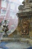 kyrklig springbrunnmelaka nära royaltyfria bilder