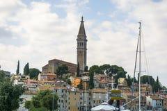 Kyrklig st-euphemia i rovinij, Kroatien royaltyfri foto