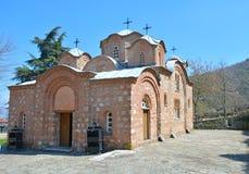 Kyrklig St Pantelejmon i Skopje, Makedonien Arkivbild