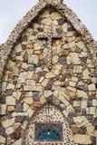 kyrklig sten Arkivfoton