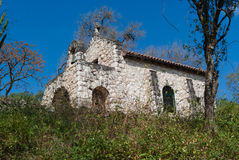 kyrklig sten Arkivbild