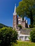 kyrklig sten för färjaharpersnationalpark Arkivfoto