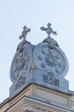 Kyrklig taköverkant Royaltyfri Foto