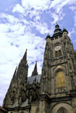 kyrklig tjeckisk prague republik arkivfoto