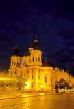 kyrklig tjeckisk prague republik Royaltyfria Bilder
