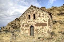 kyrklig uppståndelse Kloster Udabno Arkivbild