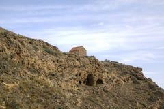 kyrklig uppståndelse Kloster Udabno Arkivfoton