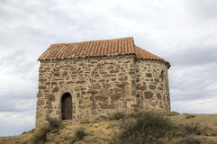 kyrklig uppståndelse Kloster Udabno Arkivfoto