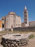 kyrklig zadar croatia donat st Royaltyfria Bilder