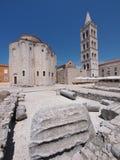 kyrklig zadar croatia donat st Fotografering för Bildbyråer