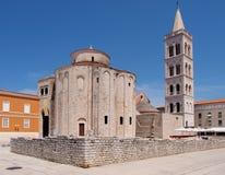 kyrklig zadar croatia donat st Royaltyfri Foto