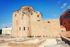 kyrklig zadar croatia donat st Royaltyfria Foton