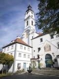 Kyrkliga Altomuenster Bayern Royaltyfri Foto