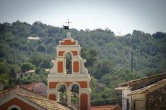 Kyrkliga Analipsi - Gaios - Paxos ö - Grekland Royaltyfria Foton