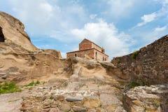Kyrkliga Apostoli Grottastaden Uplistsikhe georgia Arkivbilder