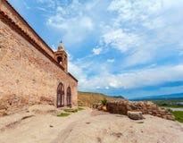 Kyrkliga Apostoli Grottastaden Uplistsikhe georgia Arkivbild