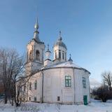 Kyrkliga Barlaam Khutynsky Vologda Royaltyfri Fotografi