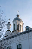Kyrkliga Barlaam Khutynsky Vologda Arkivbilder