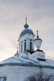 Kyrkliga Barlaam Khutynsky Vologda Royaltyfri Foto