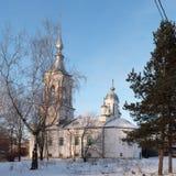 Kyrkliga Barlaam Khutynsky Vologda Arkivfoto