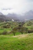 kyrkliga berg Royaltyfria Foton